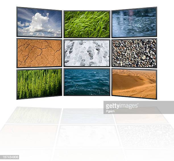 elements of the environment in high definition - the four elements stock pictures, royalty-free photos & images