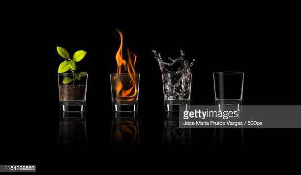 elements - the four elements stock pictures, royalty-free photos & images