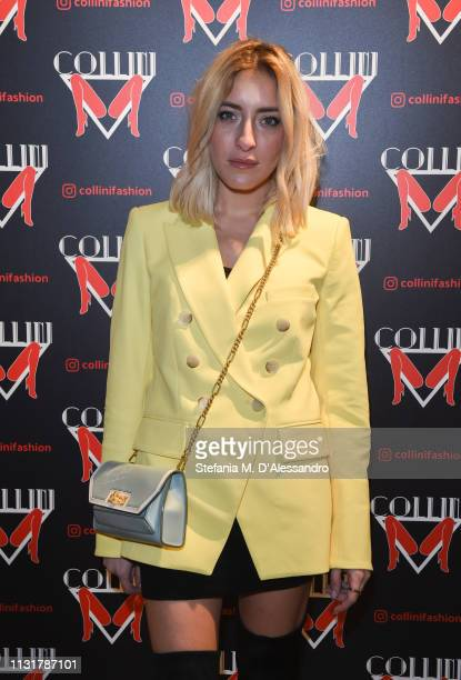 Elen Ellis attends Collini Unminimal Party Milan Fashion Week Autumn / Winter 2019/20 on February 20 2019 in Milan Italy