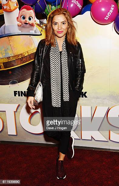 Elen Rivas attends a multimedia screening of Storks at Cineworld Leicester Square on October 2 2016 in London England