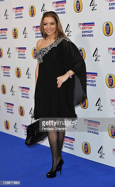 Elen Rivas attends British Comedy Awards at Indigo at O2 Arena on January 22 2011 in London England