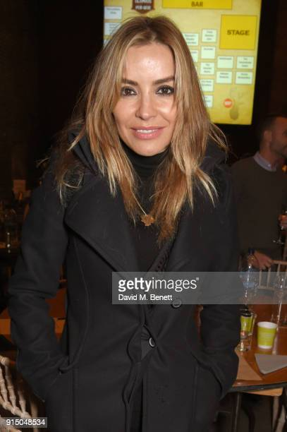Elen Rivas attends Centrepoint's 10th annual Ultimate Pub Quiz at The Village Underground on February 6 2018 in London England