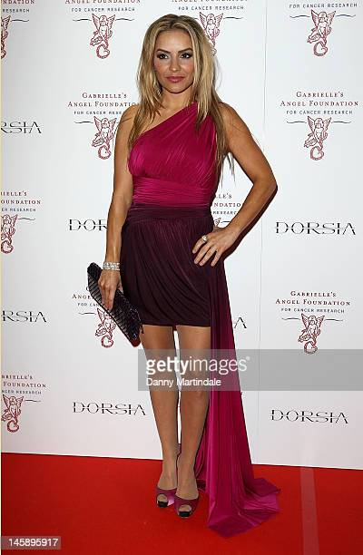 Elen Rivas attends inaugural fundraiser Gabrielle's Gala for Gabrielle's Angel Foundation for Cancer Research at Battersea Power station on June 7...