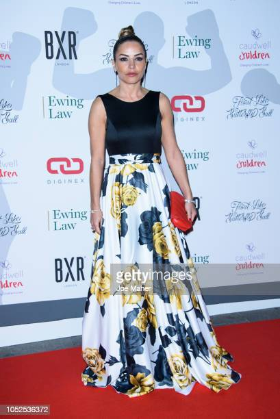 Elen Rivas attends the 2018 Float Like A Butterfly Ball at The Grosvenor House Hotel on October 19 2018 in London England