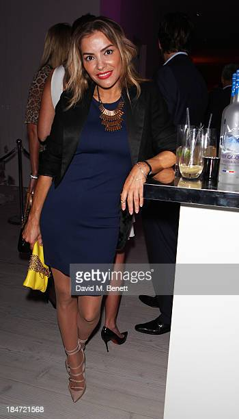 Elen Rivas attends the Candy Magazine Autumn/Winter 2013 launch party featuring the Candy GPS report at Saatchi Gallery on October 15 2013 in London...