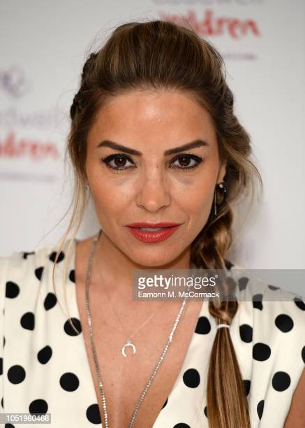 Elen Rivas attends the Caudwell Children London Ladies Lunch held at The Dorchester on October 12 2018 in London England