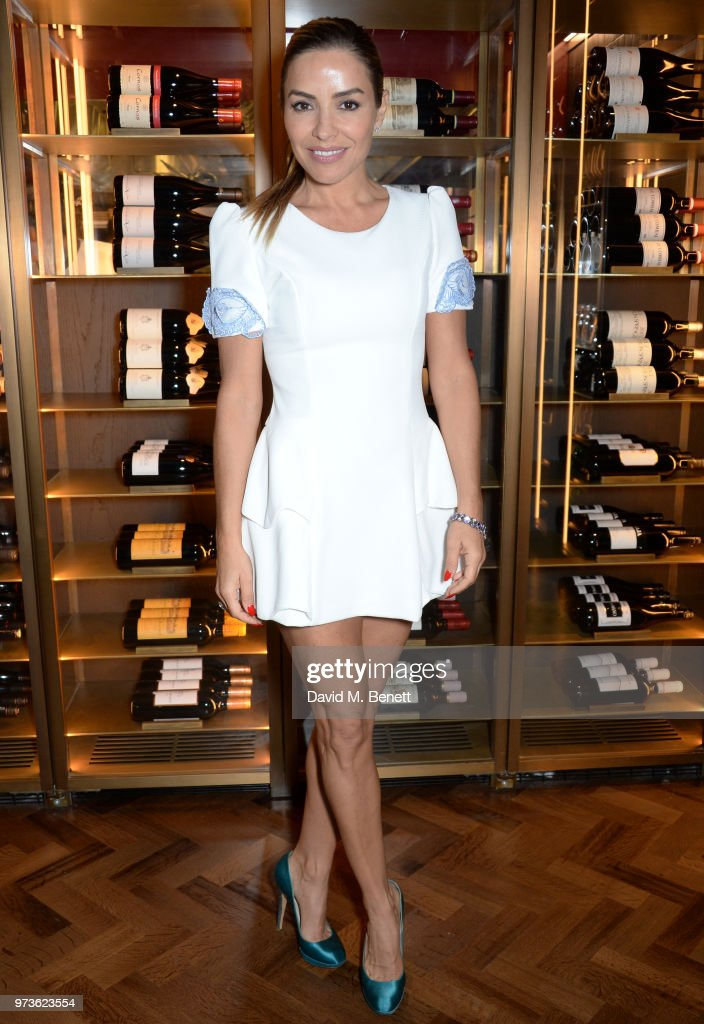 Elen Rivas attends the Centrepoint VIP Dinner hosted By Kiera Chaplin & Elen Rivas at Cafe Royal on June 13, 2018 in London, England.