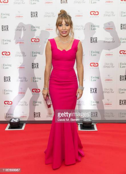 Elen Rivas attends the Float Like A Butterfly Ball in aid of Caudwell Children at The Grosvenor House Hotel on November 16 2019 in London England
