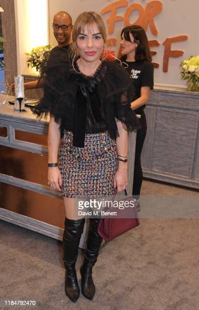 Elen Rivas attends the launch of Naomi Campbell's Fashion For Relief charity popup store at Westfield London on November 26 2019 in London England