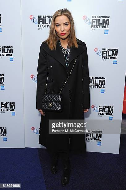 Elen Rivas attends the 'London Town' screening during the 60th BFI London Film Festival at Haymarket Cinema on October 11 2016 in London England