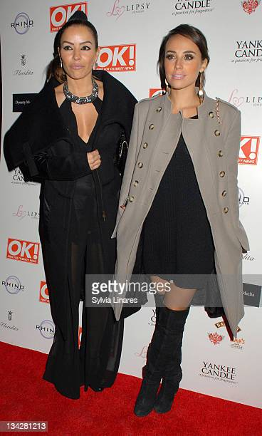 Elen Rivas attends the OK Magazine Christmas Party held at Floridita Restaurant on November 29 2011 in London England
