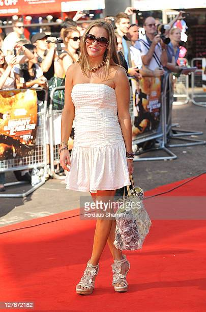 Elen Rivas attends the UK premiere of 'Johnny English Reborn' at Empire Leicester Square on October 2 2011 in London England