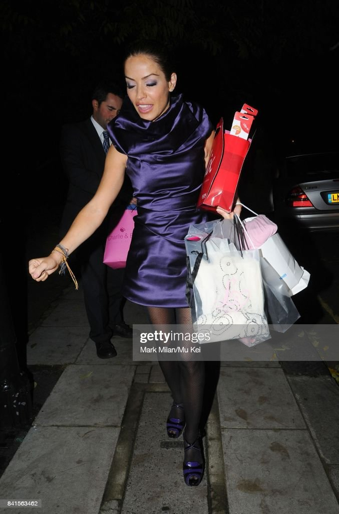 Celebrities Leave The Woman Of The Year Awards In London : News Photo