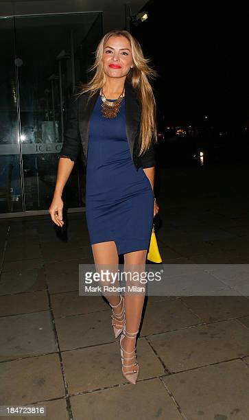 Elen Rives attending the Candy Magazine autumn/winter 2013 Launch Party on October 15 2013 in London England