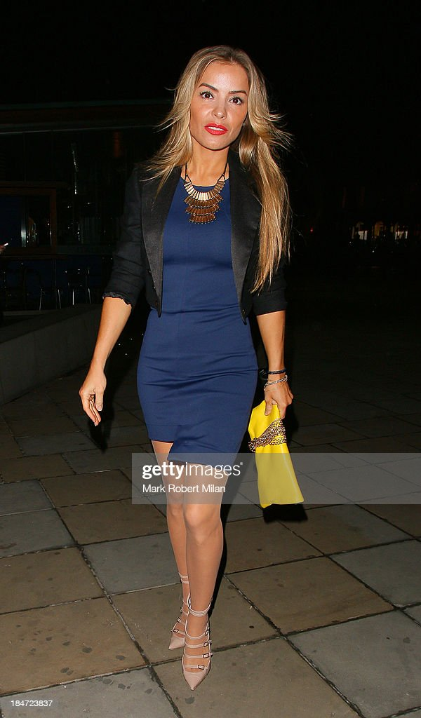 Celebrity Sightings In London - October 15, 2013 : News Photo