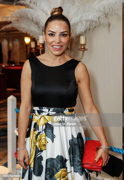 Elen Rives attends The Float Like A Butterfly Ball 2018 the annual black tie boxing gala in aid of Caudwell Children at The Grosvenor House Hotel on...