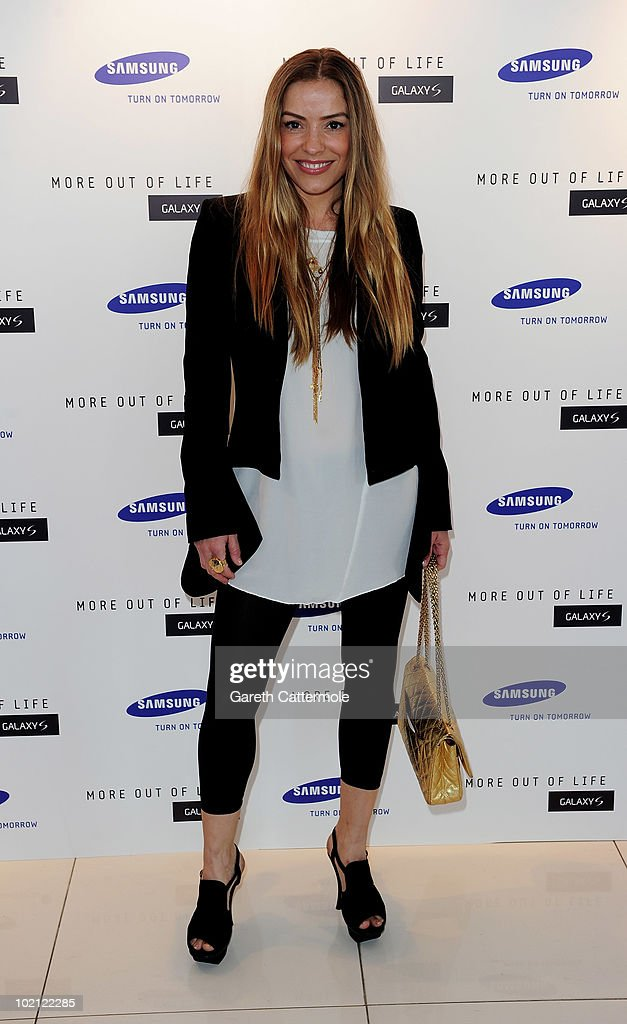 Elen Rives attends the launch of the Samsung Galaxy S Smartphone held at Altitude Bar on June 15, 2010 in London, England.