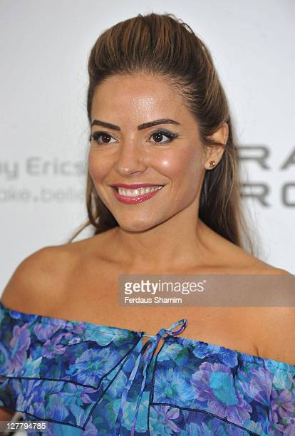 Elen Rives attends the PreWimbledon Party at Kensington Roof Gardens on June 16 2011 in London England