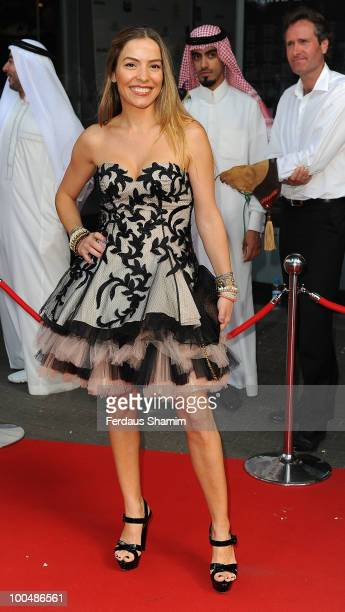 Elen Rives attends the Royal Premiere of Arabia 3D on May 24 2010 in London England