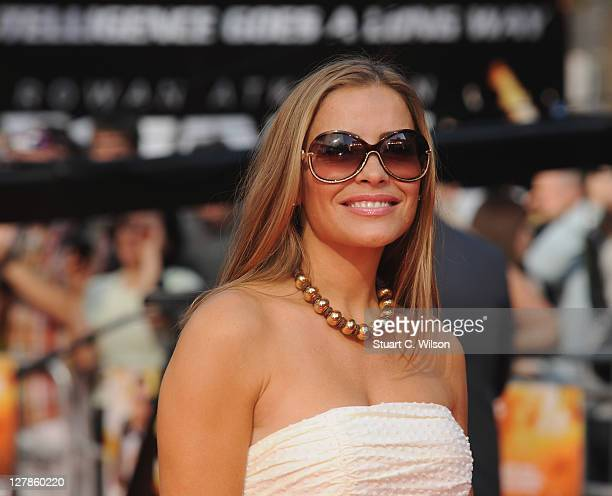 Elen Rives attends the UK premiere of Johnny English Reborn at Empire Leicester Square on October 2 2011 in London England