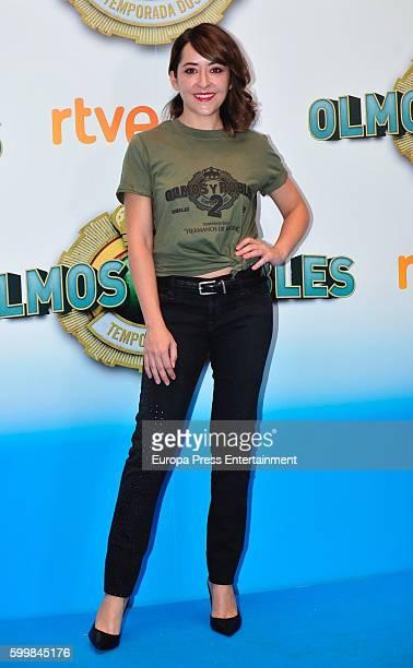 Elena Alferez attends 'Olmos y Robles' photocall during FesTVal 2016 Televison Festival on September 6 2016 in VitoriaGasteiz Spain