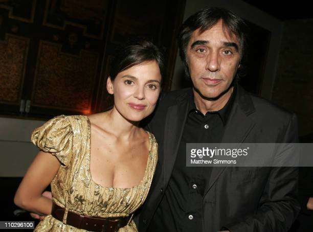 Elena Anaya and Agustin Diaz during 31st Annual Toronto International Film Festival Latin Party at Crystal Party in Toronto Canada