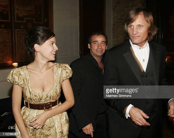 Elena Anaya and Viggo Mortensen during 31st Annual Toronto International Film Festival Latin Party at Crystal Party in Toronto Canada