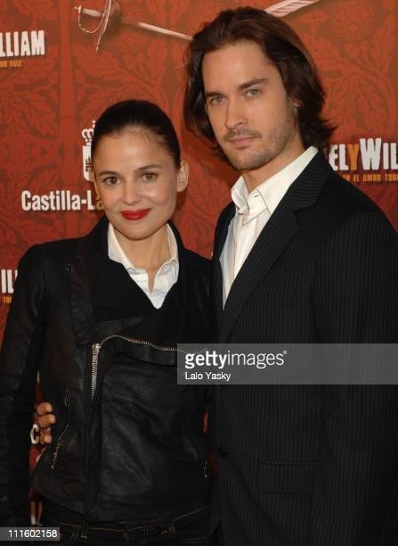 Elena Anaya and Will Kemp during Miguel y William Photocall in Madrid February 1 2007 at Hesperia Hotel in Madrid Madrid Spain