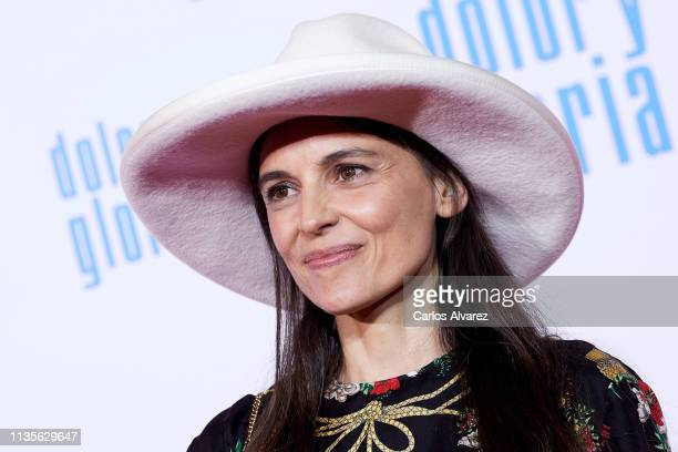 Elena Anaya attends 'Dolor y Gloria' premiere at the Capitol cinema on March 13 2019 in Madrid Spain
