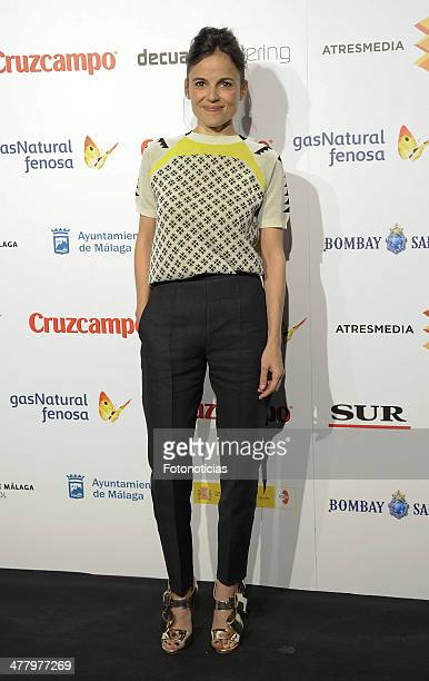 Elena Anaya attends the Malaga Film Festival cocktail presentation at TClub on March 11 2014 in Madrid Spain