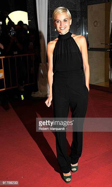 Elena Anaya attends the premiere of 'The Road' at the 42nd Sitges Film Festivall on October 11, 2009 in Barcelona, Spain.