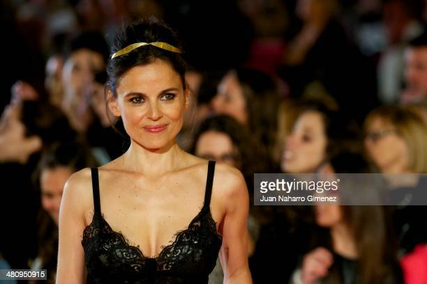 Elena Anaya attends 'Todos Estan Muertos' premiere during the 17th Malaga Film Festival 2014 at Teatro Cervantes on March 27 2014 in Malaga Spain