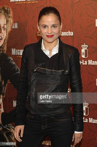 Elena Anaya during Miguel y William Photocall in Madrid February 1 2007 at Hesperia Hotel in Madrid Madrid Spain