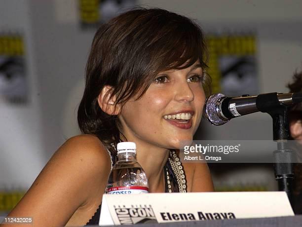 Elena Anaya of Universal's Van Helsing during 2003 San Diego Comic Con International Day Three at The San Diego Convention Center in San Diego...