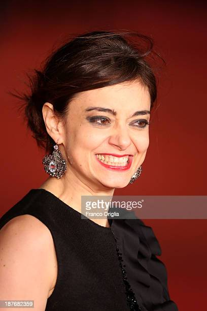 Elena Arvigo attends 'Romeo And Juliet' Premiere during The 8th Rome Film Festival on November 11 2013 in Rome Italy