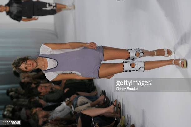 Elena Baguci wearing Marc by Marc Jacobs Spring 2006