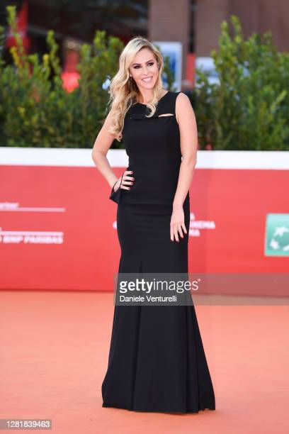 Elena Ballerini attends the red carpet of the movie Borat during the 15th Rome Film Festival on October 23 2020 in Rome Italy