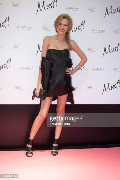 Elena Ballesteros attends Must magazine awards at Telefonica flagship store on May 11, 2010 in Madrid, Spain.