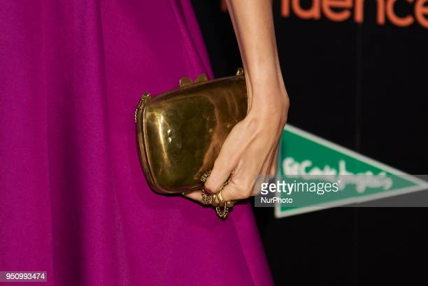 Elena Ballesteros attends the 2018 Influencers Awards in Madrid on 24 April 2018