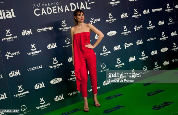 Elena Ballesteros attends the 'Cadena Dial' awards photocall on March 16 2017 in Tenerife Spain