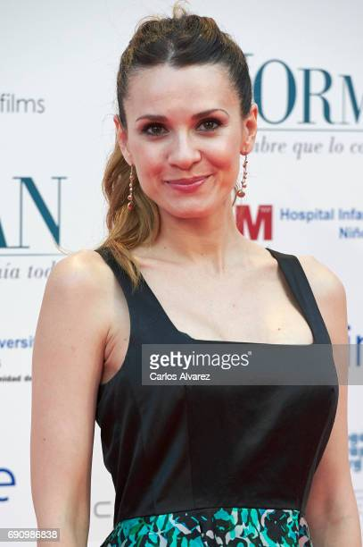 Elena Ballesteros attends the 'Norman The Moderate Rise and Tragic Fall of a New York Fixer' premiere at the Callao cinema on May 31 2017 in Madrid...