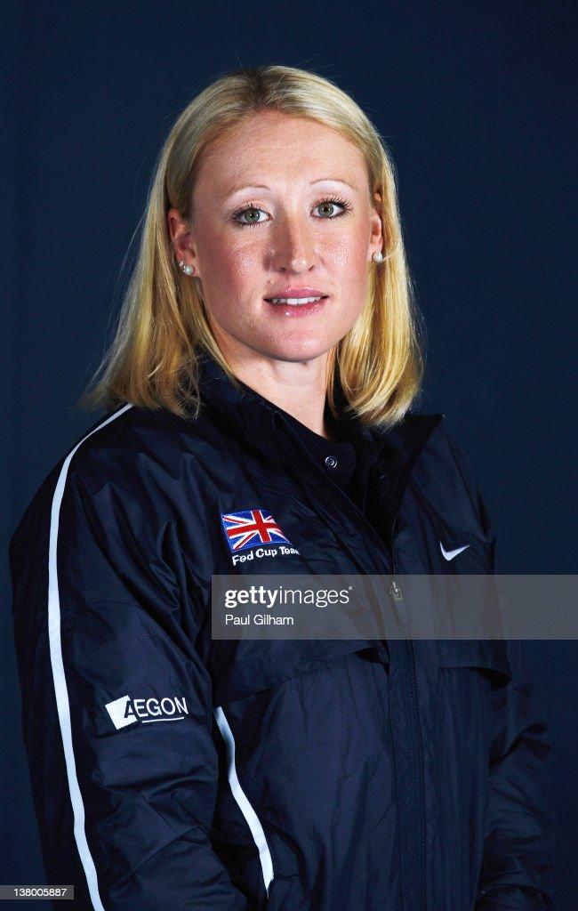 British Fed Cup Team Shoot