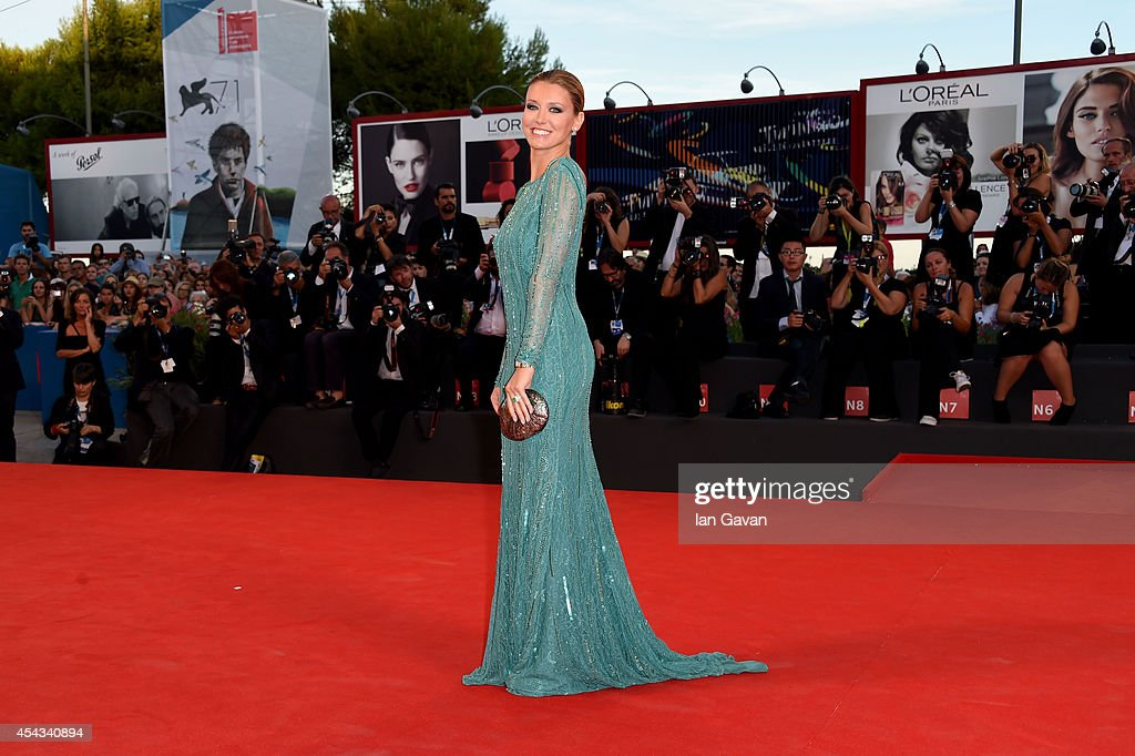 Elena Barolo attends the '99 Homes' - Premiere during the 71st Venice Film Festival on August 29, 2014 in Venice, Italy.