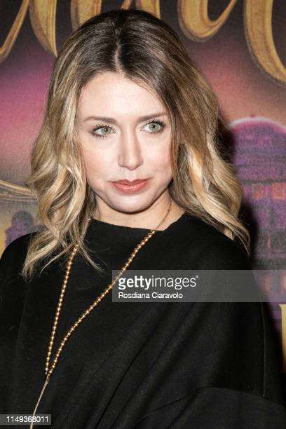 Elena Barolo attends the Aladdin photocall and red carpet at The Space Cinema Odeon on May 15 2019 in Milan Italy