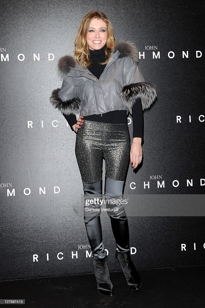 Elena Barolo attends the John Richmond Fashion Show as part of Milan Fashion Week Womenswear Autumn/Winter 2011 on February 23, 2011 in Milan, Italy.