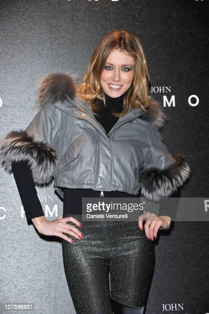 Elena Barolo attends the John Richmond Fashion Show as part of Milan Fashion Week Womenswear Autumn/Winter 2011 on February 23 2011 in Milan Italy
