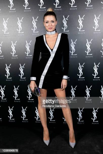 Elena Barolo attends 'Ysl Beauty Club Milan' during Milan Fashion Week Spring/Summer 2019 on September 23 2018 in Milan Italy