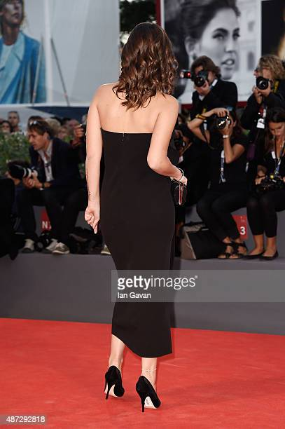 Elena Bellocchio attends a premiere for 'Blood Of My Blood' during the 72nd Venice Film Festival at on September 8 2015 in Venice Italy