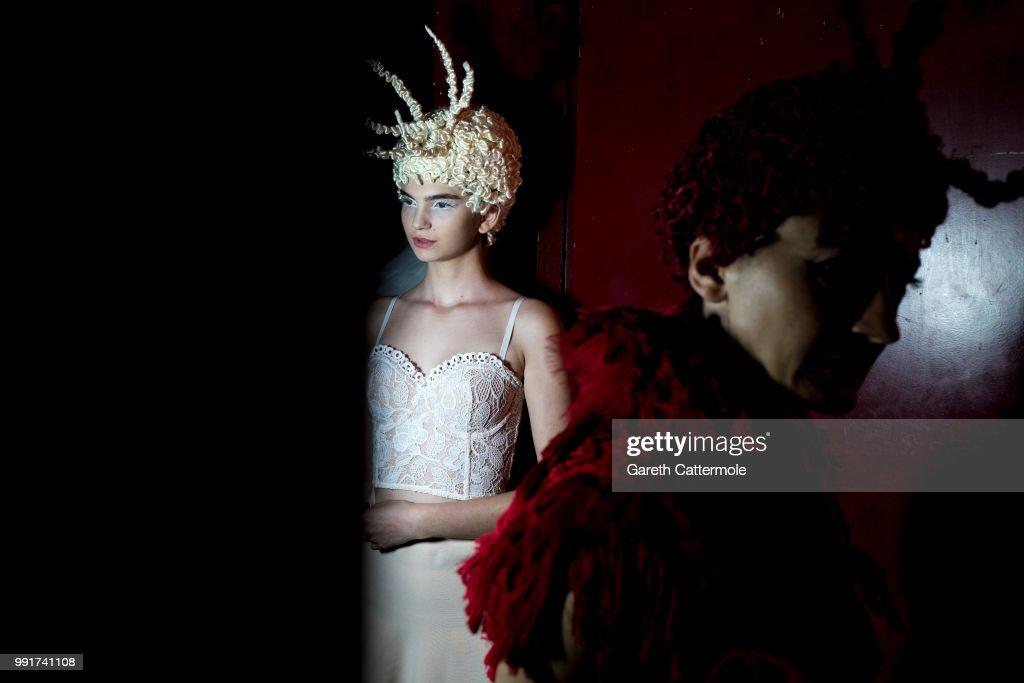 FRA: Franck Sorbier : Backstage - Paris Fashion Week - Haute Couture Fall Winter 2018/2019