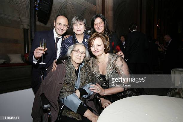 Elena Bonner Cherie Booth Blair and guests during Time Magazine 60th Anniversary Gala Evening Party in London Great Britain
